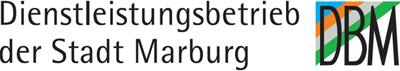 Logo Dienstleistungsbetrieb der Stadt Marburg (DBM), klicken um auf Startseite zu gelangen