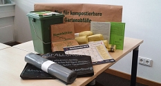 Das Foto zeigt Nützliches rund um den häuslichen Abfall von Abfallkalendern bis zu Gelben Säcken.©DBM, Sonja Stender