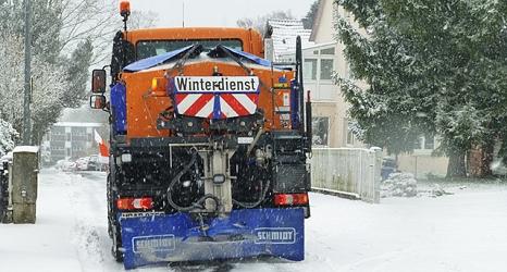 In Straßen mit starkem Gefälle ist Winterdienst besonders wichtig.©DBM, Sonja Stender